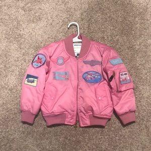 Boeing authentic Pink flight jacket